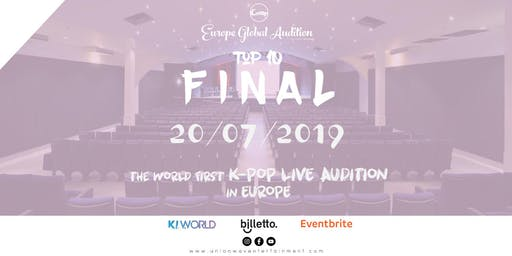 Europe K-Pop Final Audition