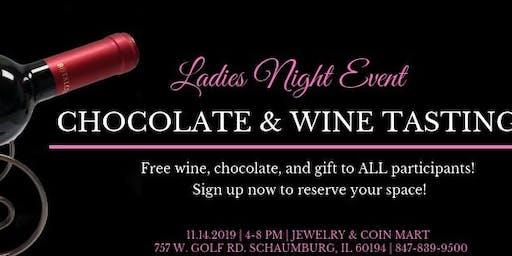 Ladies Night Wine & Chocolate Tasting