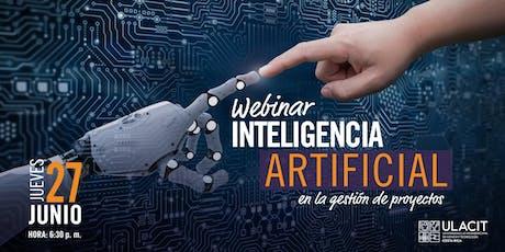 Webinar: Inteligencia artificial en la gestión de proyectos biglietti