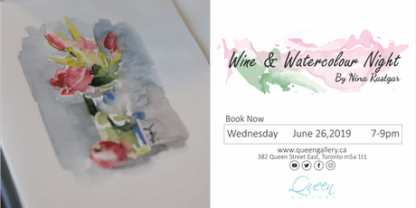 Wine and Watercolour Night tickets