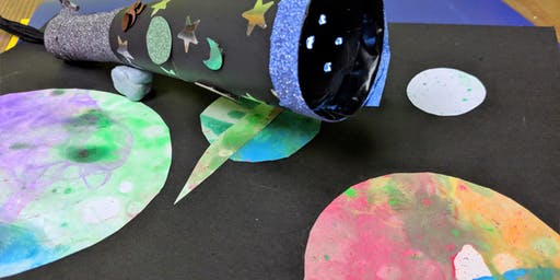 Summer of Space: Space Storytime and Crafts with Jem the Astronaut
