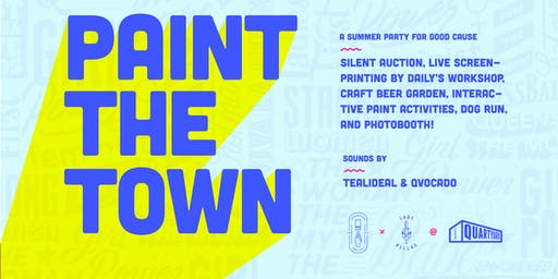 Paint the Town: A Summer Party for a Good Cause
