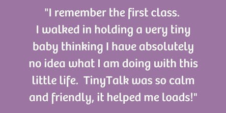 Free TinyTalk baby signing taster class tickets