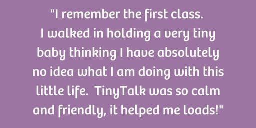 Free TinyTalk baby signing taster class