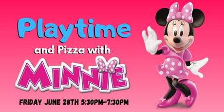 Playtime & Pizza with Minnie Mouse tickets