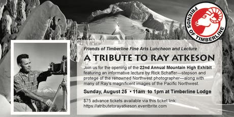 A Tribute to Ray Atkeson: Fine Arts Luncheon and Lecture tickets