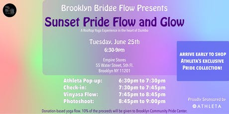Sunset Pride Flow and Glow tickets