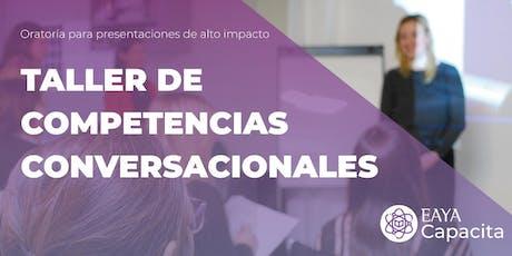 Taller de Oratoria | Competencias Conversacionales entradas
