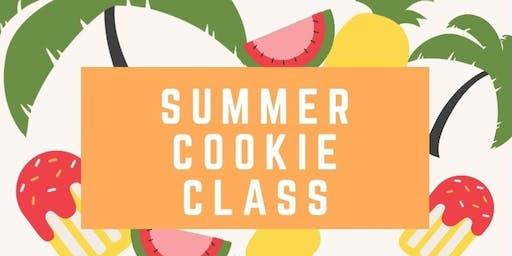 Summer cookie class