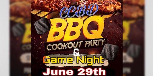 CCBD Cookout & Game Night