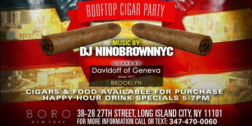 3rd Annual Red, White, & Smoke Cigar Rooftop Party