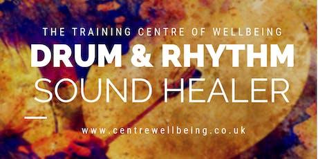 Drum & Rhythm Sound Healing Therapist Training tickets