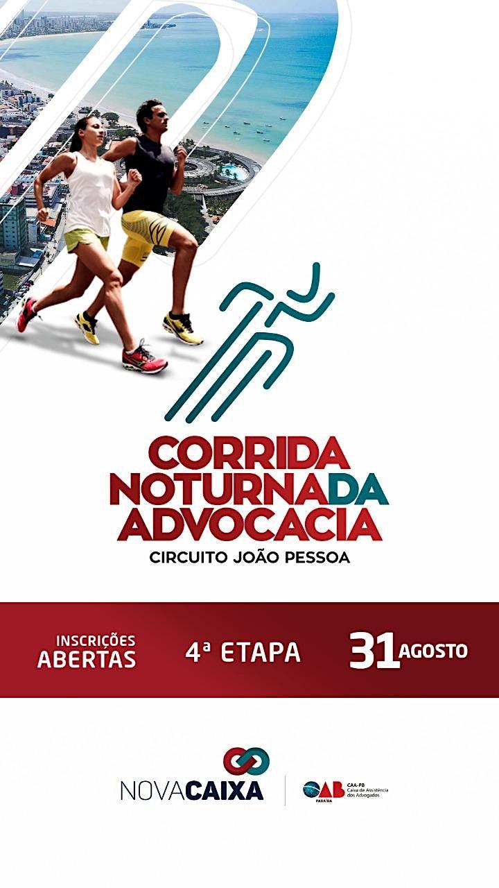 Imagem do evento 4° CORRIDA NOTURNA DA ADVOCACIA