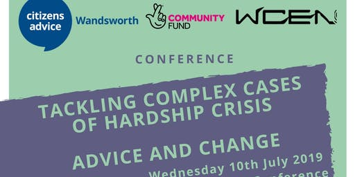 Third Annual Help Through Hardship Crisis Conference: Advice & Change