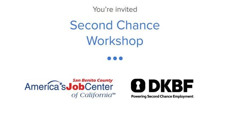 Second Chance Workshop tickets