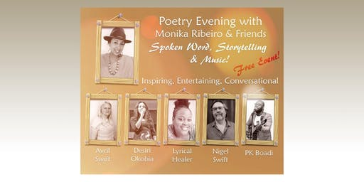 Poetry Evening with Monika Ribeiro & Friends