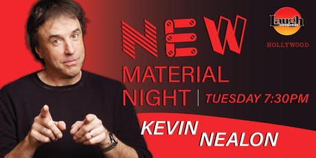 Patton Oswalt and more - New Material Night with Kevin Nealon tickets