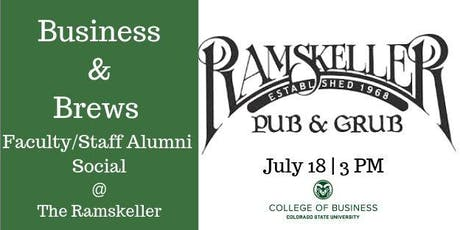 CSU Faculty/Staff Business and Brews at the RAMSkeller  tickets