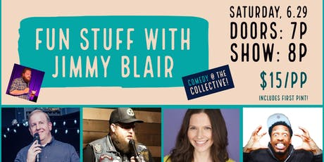 Comedy Night: Fun Stuff with Jimmy Blair tickets