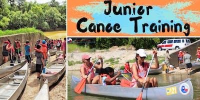 Junior Canoe Training