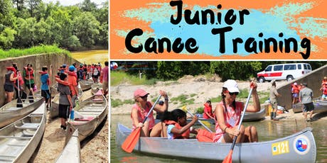 Junior Canoe Training tickets
