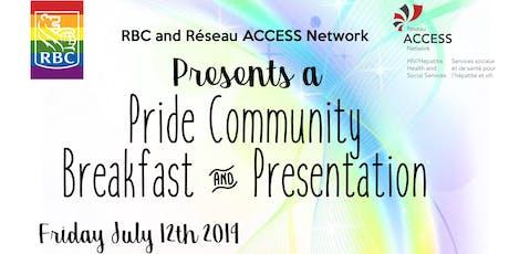Pride Community Breakfast and Presentation tickets