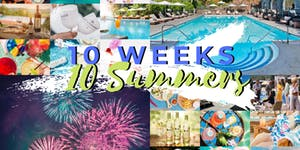 10 Weeks 10 Summers: Pool Side at The Castle