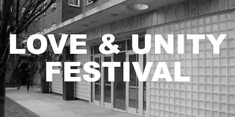 Love & Unity Festival: Volunteers tickets
