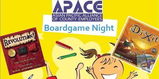 APACE Board Game Night