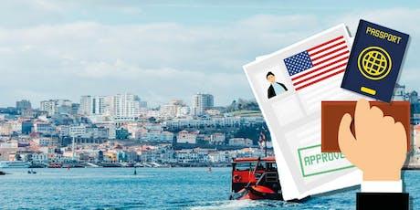 Palestra: Como investir e residir legalmente nos Estados Unidos? (Porto Alegre Julho 30 2019, as 19 horas ) ingressos