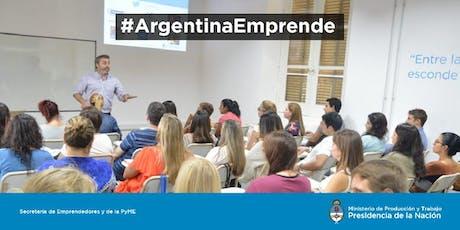 """AAE en Ciudades para Emprender """"Taller de desarrollo de ideas y detección de oportunidades de negocio""""- Concepción del Uruguay, Entre Ríos. entradas"""