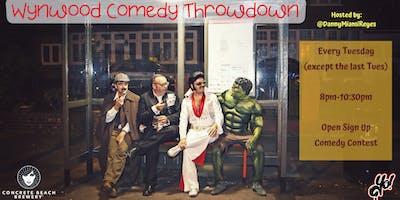 Wynwood Comedy Throwdown