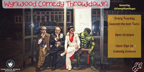 Wynwood Comedy Throwdown tickets