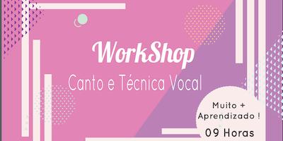 Workshop - Canto e Técnica Vocal