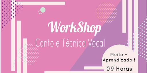 Workshop - Canto e Técnica Vocal