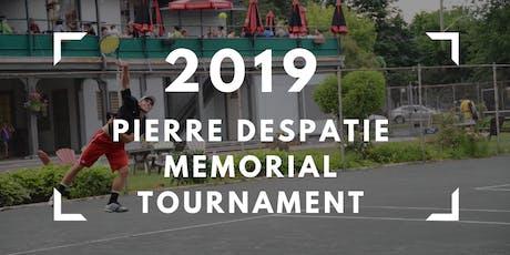 2019 Pierre Despatie Memorial Tournament tickets
