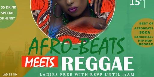 Afro-Beats Meet Reggae
