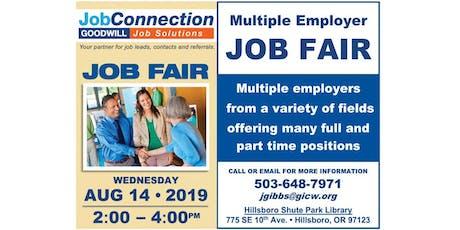 Job Fair - Hillsboro - 8/14/19 tickets
