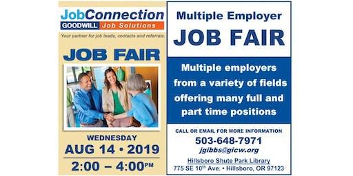 Job Fair - Hillsboro - 8/14/19