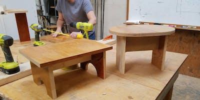 Intro to Carpentry: Step Stool