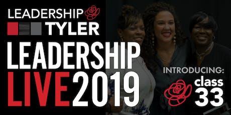 Leadership Live 2019 tickets