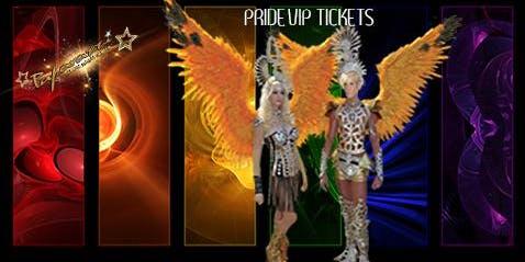 PRIDE EVENT VIP TICKETS