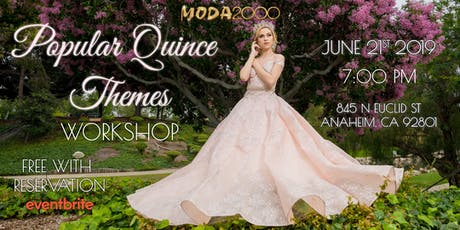 Popular Quince Themes Workshop tickets