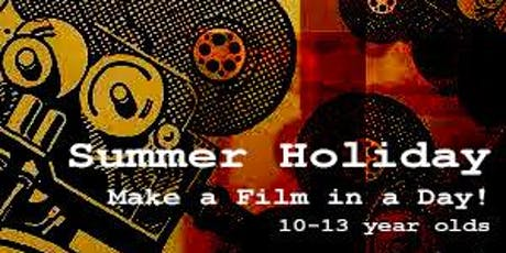 Make a film in a day! 10 - 13 year olds tickets