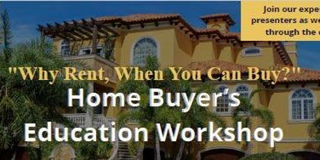 Home Buyer's Education Workshop tickets