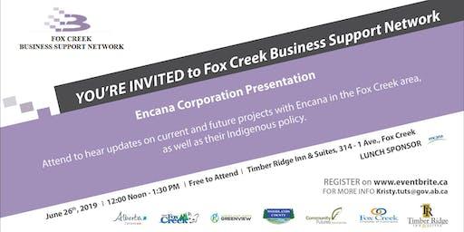 Fox Creek BSN Lunch & Learn