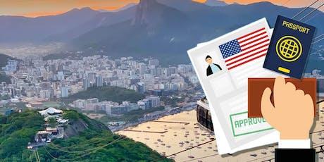 Palestra sobre Imigração para os EUA através de Investimento em Rio de Janeiro, Agosto 1 2019, as 19:30 horas ingressos