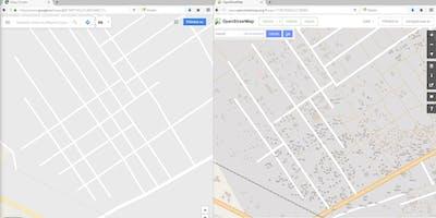 Brněnský červnový Missing Maps mapathon v centru Kafara