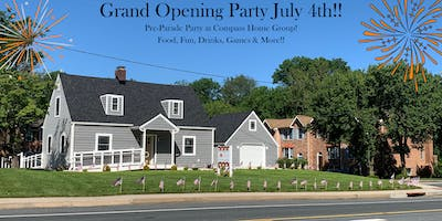 Compass Home Group Pre-Parade  4th of July Grand Opening Party!