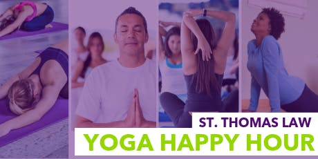 St. Thomas Law Alumni - Yoga Happy Hour  tickets